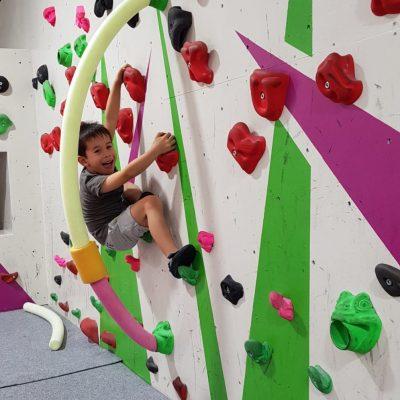StartClimbing.uk - children's climbing area at Oakwood Climbing Centre