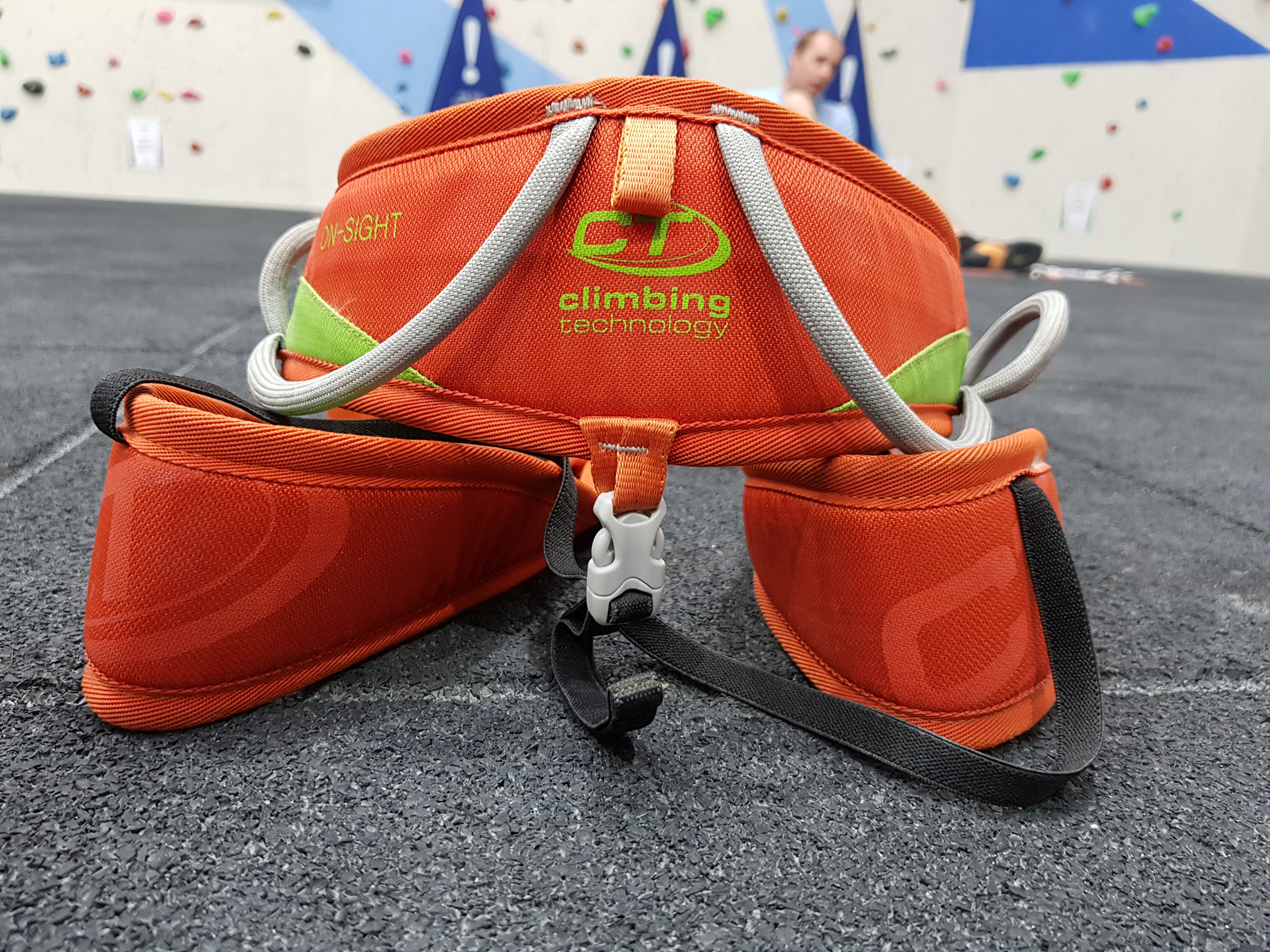 Climbing Technology, On-Sight Harness - Front View